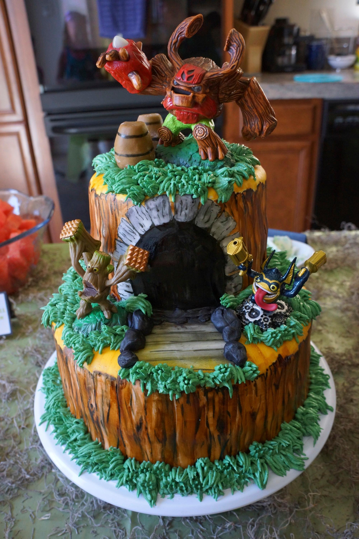 How Do You Make A Skylanders Cake