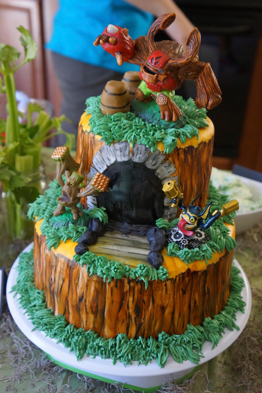 Skylanders Cake Artsyondemand